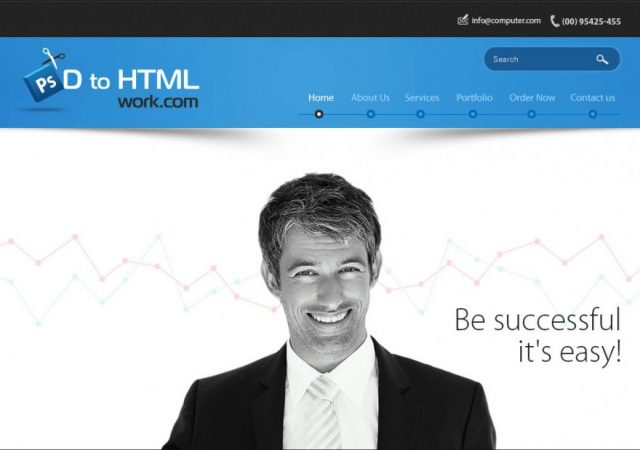 d to html